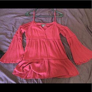 Kendall&kylie off the shoulder short dress or top